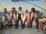 Blackfin Tunas and Big Mutton Snappers